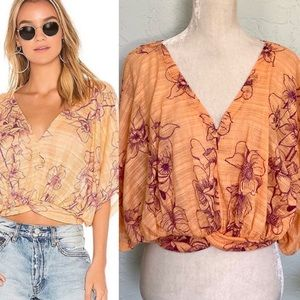 FP Crop Top One Dance Floral Size Small